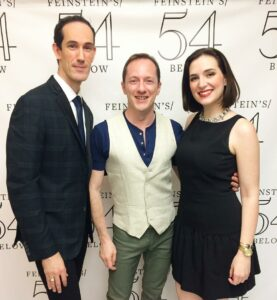 David & Tom w/Christiana Cole at Feinstein's/54 Below (2015)