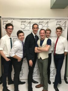Tom & David w/backup boys (Dillon McPherson, Anthony Ingargiola, Jacob Rice, Alex Burnette) at Feinstein's/54 Below (2015)