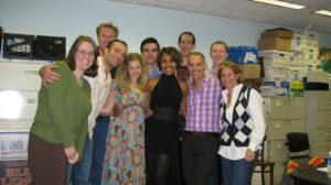 Cast & creatives of Falling to Earth reading at The York Theatre (2009)